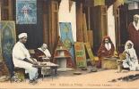 ALGERIE -scènes Et Types - Peintres Arabes - Scènes & Types