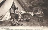 Oise- Verberie -Camp-Ecole De Scoutisme Français De CAPPY, Le Cours Des Noeuds. - Verberie