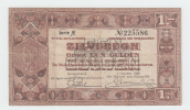 Netherlands 1 Gulden Zilverbon 1938 VF - [2] 1815-… : Kingdom Of The Netherlands