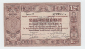 Netherlands 1 Gulden Zilverbon 1938 VF+ - 1 Gulden