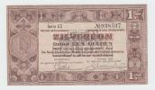 Netherlands 1 Gulden Zilverbon 1938 VF+ - [2] 1815-… : Koninkrijk Der Verenigde Nederlanden