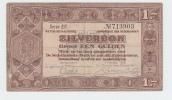 Netherlands 1 Gulden Zilverbon 1938 VF - [2] 1815-… : Koninkrijk Der Verenigde Nederlanden