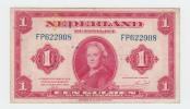 Netherlands 1 Gulden 1943 VF P 64 - 1 Gulden