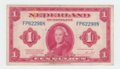 Netherlands 1 Gulden 1943 VF P 64 - [2] 1815-… : Koninkrijk Der Verenigde Nederlanden