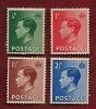 UK 1936 Mint Hinged Stamps Edward VII Nrs 193-196 - 1902-1951 (Kings)