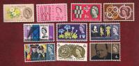 UK 1964  Mint Hinged Stamp(s)  Various (10) Stamps Between Nr. 346=388) - 1952-.... (Elizabeth II)