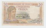 France 50 Francs 1938 VF++ CRISP Banknote P 85b 85 B (No Pinholes) - 1871-1952 Frühe Francs Des 20. Jh.