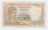 France 50 Francs 1938 VF++ CRISP Banknote P 85b 85 B (No Pinholes) - 1871-1952 Gedurende De XXste In Omloop