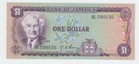 JAMAICA 1 DOLLAR 1960 (1976) UNC NEUF P 59a 59 A - Jamaica