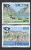 Foroiar 1991 Unif. 215/16 **/MNH VF - Islas Faeroes