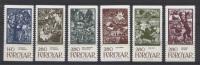 Foroiar 1984 Unif. 100/05 **/MNH VF - Islas Faeroes