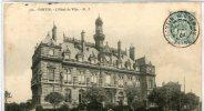 CPA 93 PANTIN L HOTEL DE VILLE 1904 - Pantin
