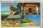 Oceania . Figi . Vitu Levu . Rarotonga . Dance . Qsl - Figi