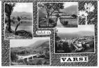 SALUTI DA VARSI (PR) - VEDUTINE - F/G - V: 1966 - Parma