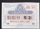 Lotto - Lottery - Junta De Proteccion Social De San Jose 1990 - Lottery Tickets