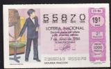Lotto - Lottery - Loteria Nacional Espana - Spain - Children - Lottery Tickets