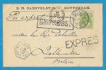 Expres / Spoed ( Nederland ) : Rotterdam --> Lichtervelde / E.M.Baerveldt Jr /  Postduiven Sierduiven Vogels - Belgien