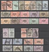 31 Zegels - Stamps - Timbres RESTANT VERZAMELING JOURNEAUX DAGBLADEN  - ZIE SCAN - COTE + EURO 70,00 - Periódicos
