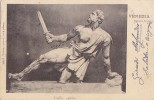 D236- Venezia - Gallo Caduto - F.p.. Viaggiata 1901 - Esculturas