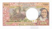 Polynésie Française / Tahiti - 1000 FCFP / O.046 / 2012 / Signatures Barroux-Noyer-Besse - Neuf / Jamais Circulé - Papeete (Polynésie Française 1914-1985)