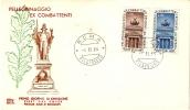 *ITALIA - PELLEGRINAGGIO DEGLI EX COMBATTENTI RESIDENTI ALL´ESTERO* - (FDC) - 6. 1946-.. Repubblica