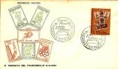 *ITALIA - 6^ GIORNATA DEL FRANCOBOLLO* - (FDC) - 6. 1946-.. Repubblica