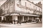 CHALON Sur SAONE (non Inscrit) HOTEL ET CAFE DE LA GARE Chez Maitre Pierre    (carte Hotel) - Chalon Sur Saone