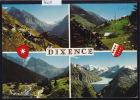 Dixence - Multivues : Le Barrage De La Grande Dixence, Mayens ; Gd Format 10 / 15 (7609) - VS Valais
