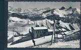 Rochers De Naye, Animée, Téléphérique, Ski, Skieur, - VD Vaud
