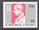 Peru 630  *  MEDICINE  BRAILLE - Peru