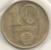 Hungary  10 Forint  1983  KM#636 - Hongrie