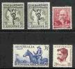 Australia-1949 ASC 249-253    MNH - Australia