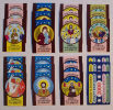 3 Sets Of Souvenir Match Stickers -(24 Items ) - Stickers