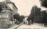 CONTREXEVILLE     Rue De La Gare - Autres Communes
