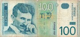 Serbia 2004 NOTE 100 DINARA CIRCULATED - Serbia