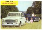 Peugeot 403  -  1964 - Voitures De Tourisme