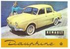 Renault Dauphine - Voitures De Tourisme