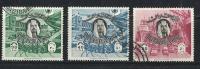 Bahrain, Sheik And Bahrain International Airport. 1966, Jan. 1, Used Stamps - Bahrain (1965-...)