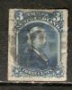 Newfoundland 1876-79  3c Rouletted  (o) - Newfoundland