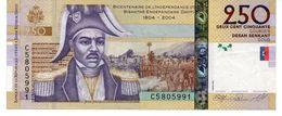 HAITI - 250 GOURDES 2008 CIRCULATED - P NEW (276) Commemorative - Haiti