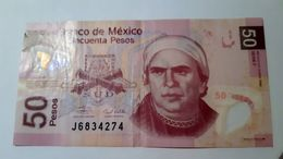 Mexico 50 $  PESOS 2006  NOTE 2006 - Mexique