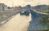 Brasschaat - Fotokaart - Kanaal - Binnenschipen -1921 ( Verso Zien  ) - Brasschaat
