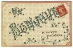 Carte Postale Ancienne Aude Un Bonjour De Roquefort Des Corbières Fantaisie - France