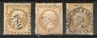 N° 21 OBLITERE 3 COULEURS 1862 COTE 25€- LIVRAISON  ET AUTRE VOIR DETAIL - 1862 Napoleone III