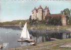 19809 BORT LES ORGUES. Le Château De Val.   Chatagneau 14227 Elce. Voilier Barque Colorisée
