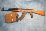 AK47 + Accessoires, Neutralisé - Decorative Weapons