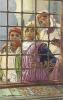 SCENES ET  TYPES. ALGERIE . PAR LA FENETRE D´UNE MAISON ARABE - Scènes & Types