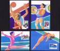 1992  Jeux Olympiques Gymnastique, Plongeon, Haltérophiolie, Basketball  Série Complète - 1949 - ... République Populaire