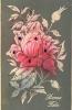 Magnifique Série 10 CPA Gaufrées Ou Ajoutis - Fleurs En Satin Ou Velours , Ajout Paillettes Et Strass - 10 Scans - Ohne Zuordnung