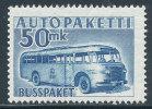 FINLAND 1954 PARCEP POST STAMPS MAIL BUSS KEY STAMP SC# Q8 FRESH MNH
